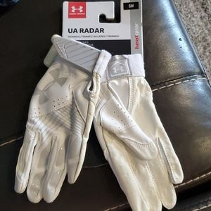Under Armor women's batting gloves